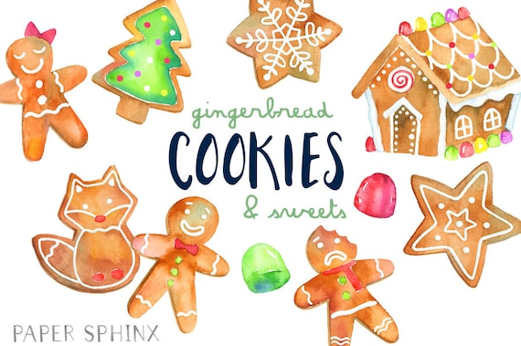 Christmas Cookie Clipart.Christmas Cookie Clipart House Cookies
