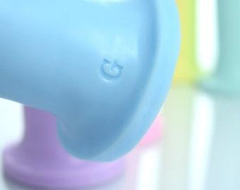 Pastel Collection Adam - Pastel Handmade Platinum Silicone Dildo Adult Sex Toys