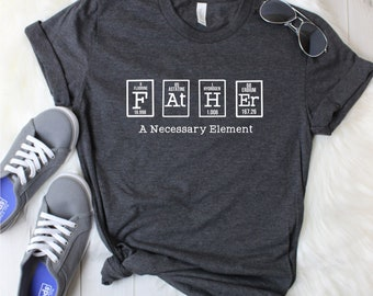 e21474b6 Fathers Day,Periodic Element Shirt,Science Dad,Nerdy Dad Shirt, Dad Shirt, Fathers Day Shirt, Fathers Day Gift,Custom Dad Shirt,Gift for Him,