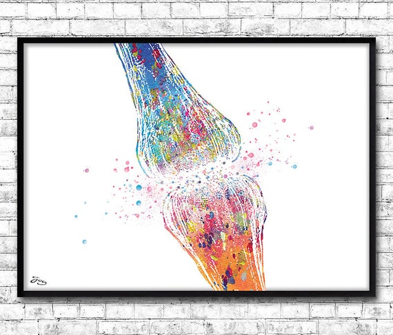 Med School Update Letter.Synapse Art Gift Neurosurgeon Neurons Art Medicine Displays Gift Doctor Medical School Decoration Medical Office 310