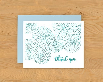 """Thank You Card """"Dots"""" A2"""