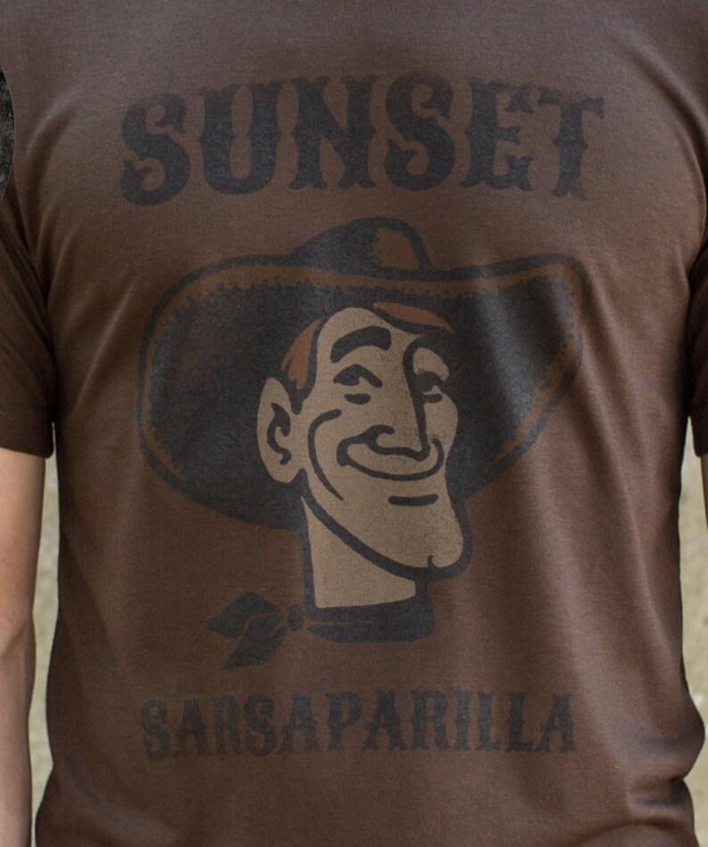 Cowboy Western T-Shirts Organic Bamboo Shirt Sarsaparilla image 0