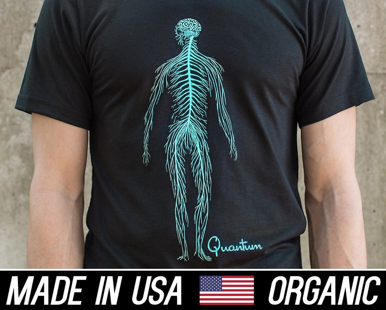 Fitness Anatomy tee Recycled Poly Graphic t-shirts Tee image 0