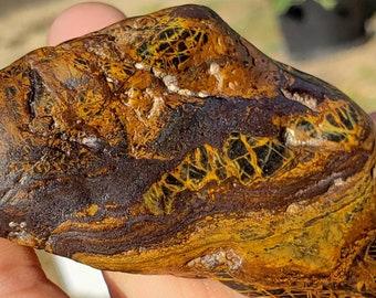 W.80 Magnetic Banded Iron Ironstone Formation Genesis Stone tiger iron WYOMING BIF Hematite Magnetite Jasperite