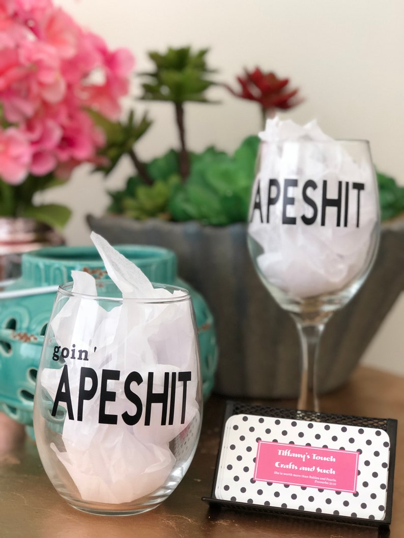 APESHITBeyonce/'goin/'APESHITOTR  TourPersonalized Wine GlassBeyonce Wine Glass Bey and Jay