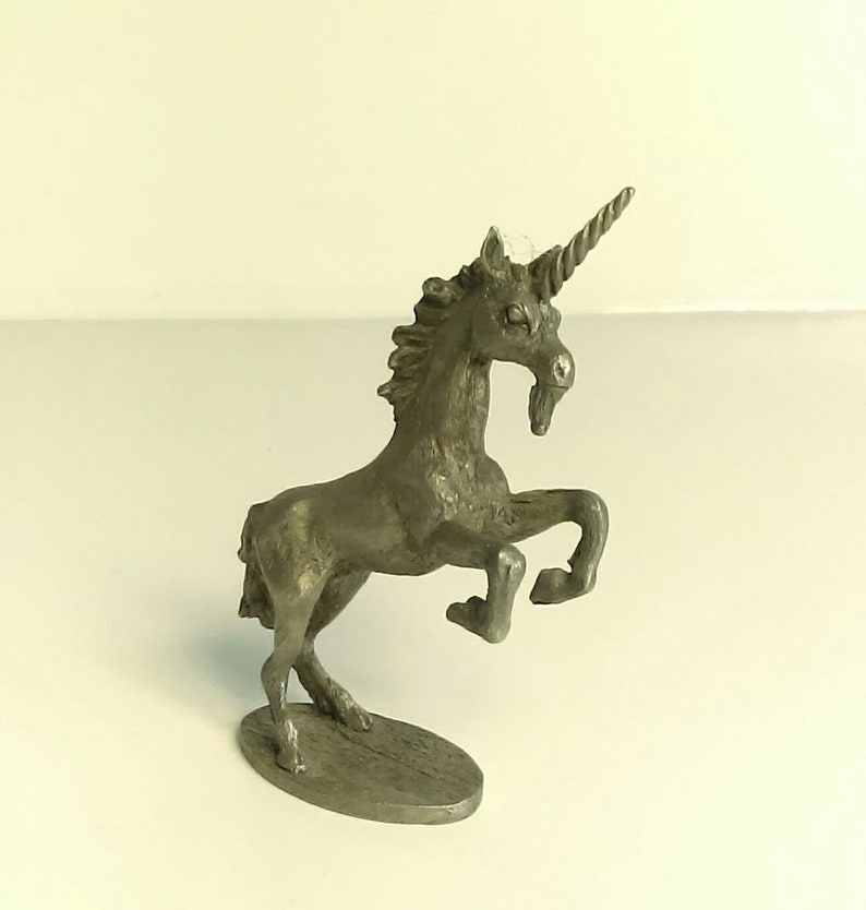 Spoontiques Pewter Unicorn Figurine,