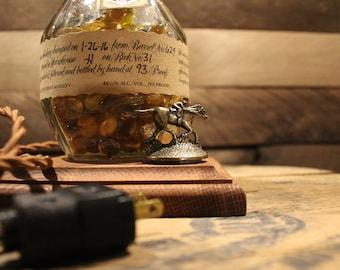 Blanton's Bourbon Whiskey Bottle Lamp