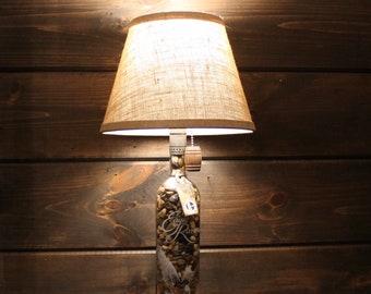 Eagle Rare Bourbon Bottle Lamp
