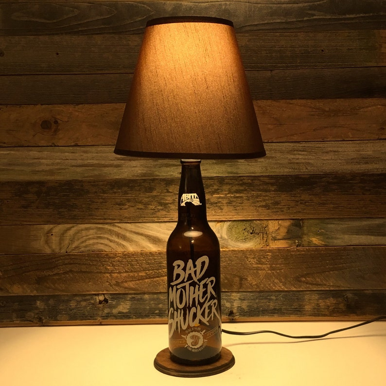 Abita Bad Mother Shucker Beer Lamp