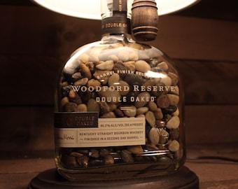 Woodford Reserve Double Oaked Bourbon Whiskey Bottle Lamp