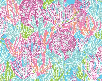 Let's Cha Cha Lilly Pulitzer Fabric