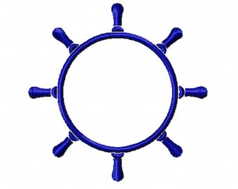 Ships Wheel for Monogramg