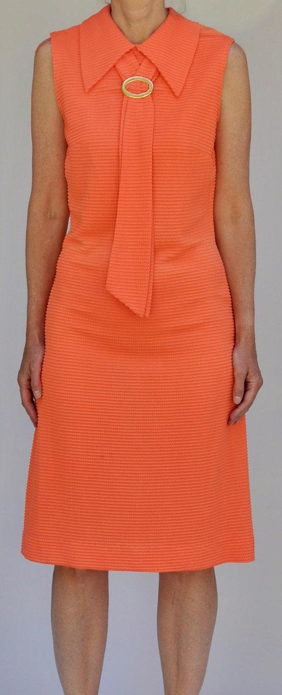 1960's Orange Dress