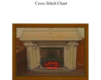 A WARM GLOW - Cross Stitch Chart
