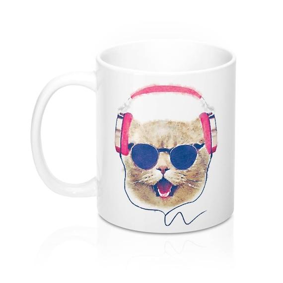Crazy Cat Lady Mug les amateurs de Chat Cadeau Mug Chats Tasse à Café