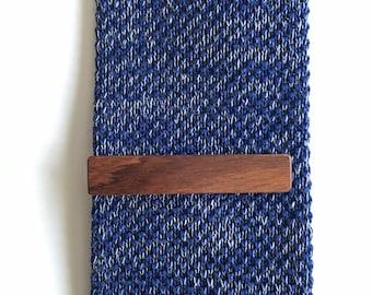 Bolivian Rosewood Tie Clip - wooden tie clip - tie clip - wood tie clip - mens accessories