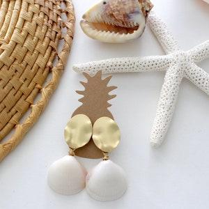 Seagrass MeadowsMermaid EarringsOrganic Shell Earrings