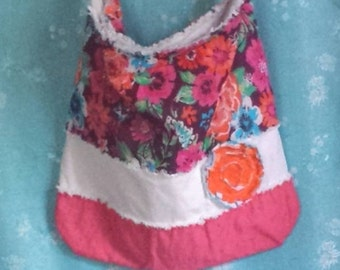 Upcycled Rag Tote Bags, Upcycled Tote bags, Recycled tote bags