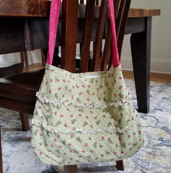 Girls bag Small child/'s tote Upcycled child/'s bag