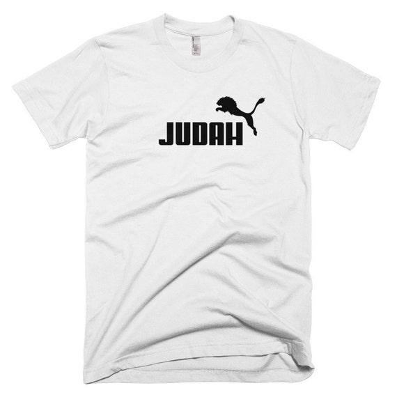 przystojny wyprzedaż online tutaj Lew z Judy T-shirt-Puma żydowskie tee Odzież Jerozolima królestwo Izraela  inspirowane Odzież odzieży