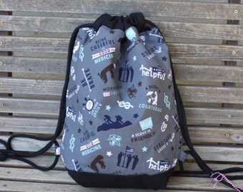 Boy Scout backpack, a fun accessory for any outfit, Canvas lined and bottom for durability, inside pocket