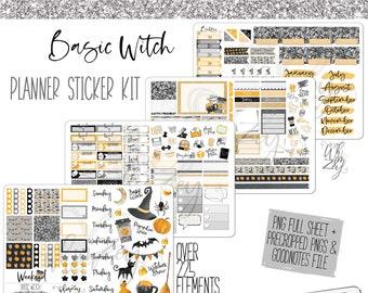 Basic Witch - Planner Sticker Kit