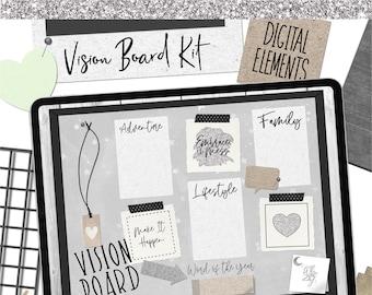 Vision Board Kit- Digital Planning