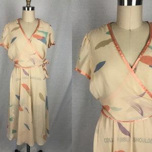 Vintage 1980\u2019s dress magenta pink polyester Billy Jack for her size 78 vintage wrap dress with pockets 1980\u2019s fashion