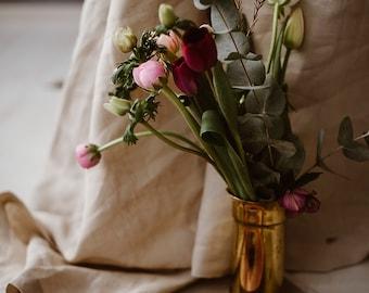 Extra Large Linen Tablecloth - Beige Linen Tablecloth - Sand Colour Tablecloth - Wedding Tablecloth - Elegant Tablecloth - Large Tablecloth