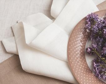 Wedding napkins 100, Natural linen napkins of flax, Linen napkins for restaurants, Elegant wedding napkin, Wholesale napkins, Birthday party