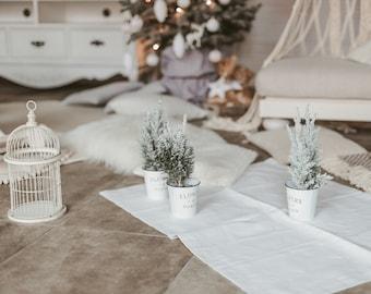 Natural linen mat / rug made of organic linen flax, Double-layered door / bed mat, Pure linen yoga mat rug, Sauna mat of natural linen flax
