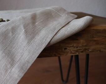 Light Gray Linen Tablecloth of 100 % Natural Linen Flax, Natural Linen Tablecloth, Rustic Style Linen Tablecloth, French Style Tablecloth