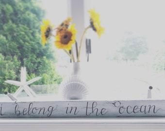 I Belong in the Ocean