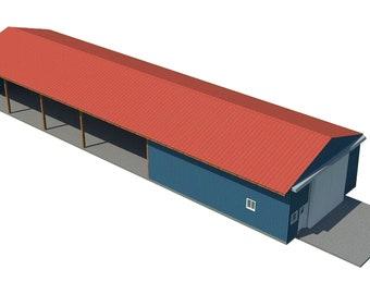 Car Garage Plans Diy Backyard Workshop Shed Building 16 X