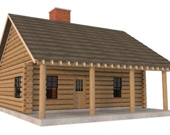Playhouse Fort Plans Diy 2 Story Backyard Playground Kids Toys Etsy
