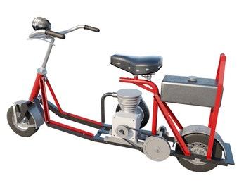 ATV Plans DIY Cycle Motorcycle Mini Bike Trike Build Your