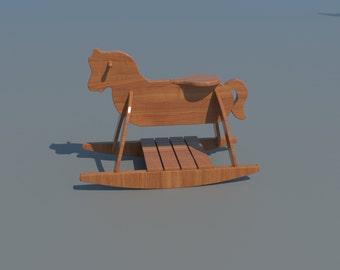 Horse Toy Rocker Etsy