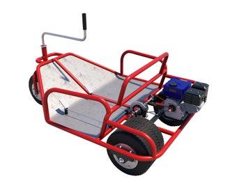 4 Wheel Bike Plans DIY Pedal Car Quad Cycle Rickshaw Pedicab | Etsy