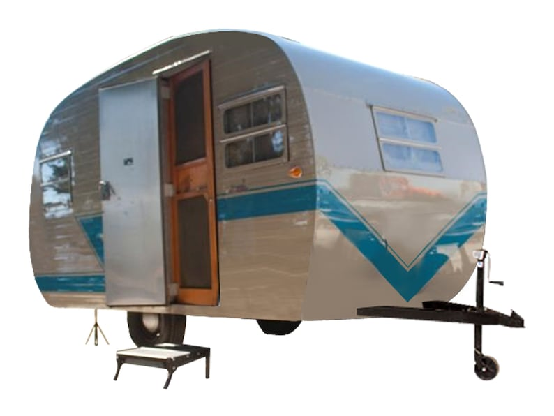 0e405c02b661 12  Teardrop Travel Trailer DIY Plans Tear Drop Camper RV