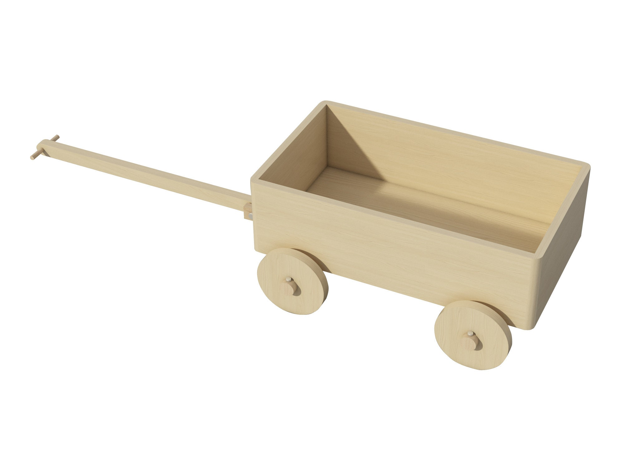 wooden wagon cart plans diy kids toddler traditional ride on pull cart  outdoor
