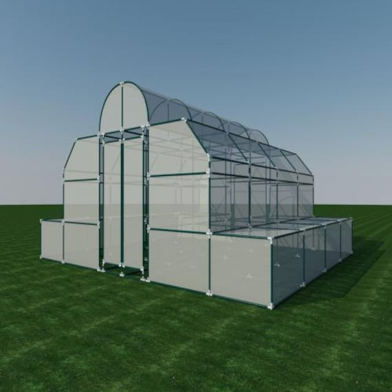 Pvc greenhouse plans diy hoop house grow veggies plants etsy image 0 solutioingenieria Image collections