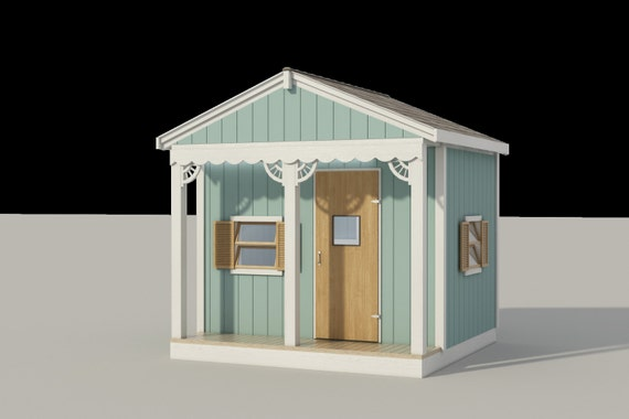 Cottage Kids Playhouse Plans