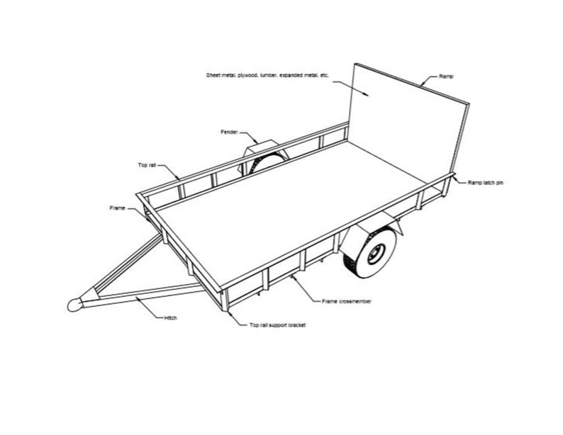 car hauler trailer tool box