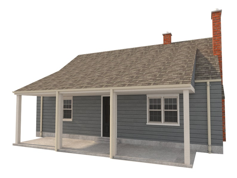 Adobe House Plans 2 Bedroom Diy Home Building Project 972 Sq Ft Build Your Own Project Plans Tools Home Improvement