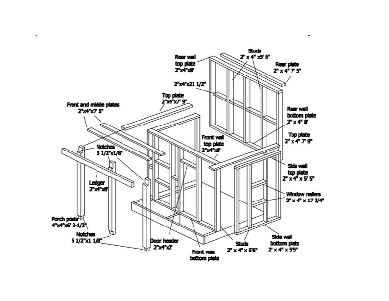 Diagram Of Step Porch