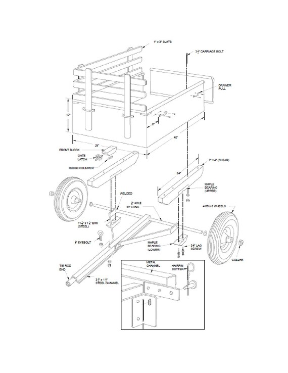 Dump Trailer Schematics