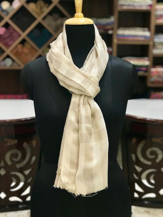 Pure Texture écharpe pur Cachemire étoles châles unisexe   Etsy c6bd9df09f8