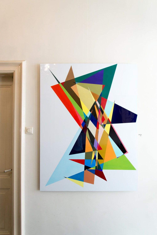 Moderne schilderijen abstracte schilderkunst industri le for Moderne schilderkunst
