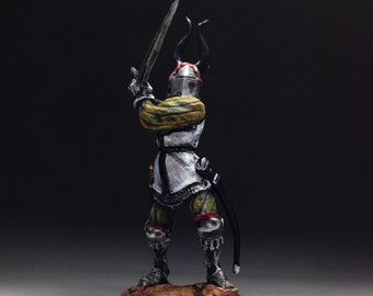 M93 Novgorod Horse Warrior Tin Toy Soldiers Metal Sculpture Miniature Figure Collection 54mm scale 1//32