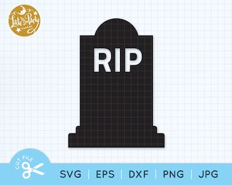 RIP Headstone SVG, Gravestone Cut File, Death To My Twenties, Tombstone, Over The Hill, Cemetery Svg, Halloween, Headstone Svg Eps Png Jpg